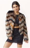Twelfth Street Cynthia Vincent Faux Fur Chubby Jacket - Lyst