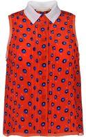Vanessa Bruno Sleeveless Shirt - Lyst