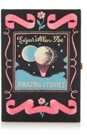 Olympia Le-Tan Amazing Stories by Edgar Allen Poe Book Clutch - Lyst