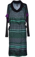 Pianurastudio Kneelength Dress - Lyst