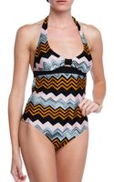 Missoni Zig Zag One Piece - Lyst