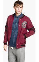 H&M Baseball Jacket - Lyst