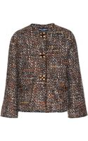 Dolce & Gabbana Tweed Jacket with Embellished Buttons - Lyst