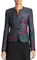 Armani Abstract Jacquard Woven Jacket - Lyst