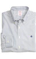 Brooks Brothers Noniron Regular Fit Stripe Sport Shirt - Lyst