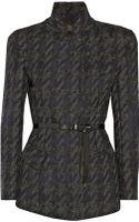 Donna Karan New York Belted Wool-blend Jacket - Lyst