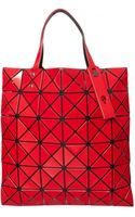 Bao Bao Issey Miyake Lucent Prism Shopper Bag Red - Lyst