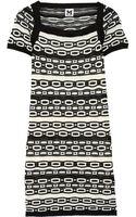 M Missoni Crochet Knit Cotton Blend Dress - Lyst