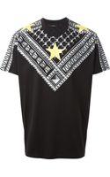 Givenchy Geometric Star Print Tshirt - Lyst