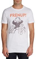 Junk Food Prenup Graphic Cotton Tee - Lyst