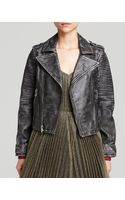 Marc By Marc Jacobs Jacket  Biker Leather - Lyst
