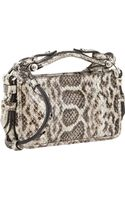 Givenchy Snakeskin Obsedia Clutch - Lyst