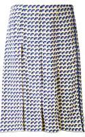Marc Jacobs Fan Print Skirt - Lyst