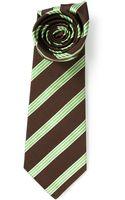 Kiton Striped Tie - Lyst