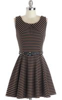 ModCloth A Beautiful Latte Dress - Lyst