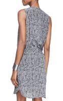 Eileen Fisher Fisher Project Sleeveless Roadsterprint Dress - Lyst