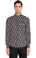 Naked & Famous Pig Party Regular Shirt - Lyst