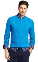 Tommy Hilfiger Classic Cableknit Sweater - Lyst