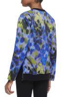 Halston Heritage Long Sleeve Impressionist Print Sweatshirt Sapphiremulticolor - Lyst