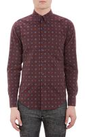 Naked & Famous Medallionprint Flannel Shirt - Lyst