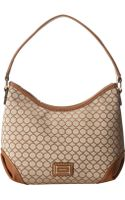 Nine West Mini 9s Sateen Hobo - Lyst