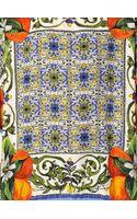 Dolce & Gabbana Orange Printed Cotton Silk Brocade Top - Lyst