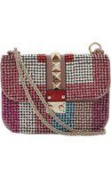 Valentino Lock Small Flap Bag - Lyst