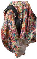 Comme Des Garçons Vintage Floral Print Balloon Skirt - Lyst