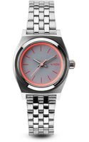 Nixon The Small Time Teller Watch 26mm - Lyst