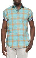 Robert Graham Sandstone Shortsleeve Sport Shirt - Lyst