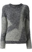 Theyskens' Theory Crew Neck Sweater - Lyst
