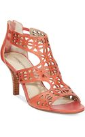 Adrienne Vittadini Greece Sandals - Lyst