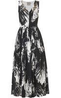 Preen Vertigo Blackbirdsprint Dress - Lyst