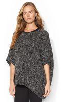 Lauren Jeans Co. Lauren Jeans Co Marled Poncho Sweater - Lyst