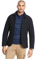 Tommy Hilfiger Quilted Flannel Jacket - Lyst