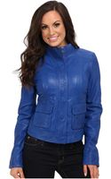 Lucky Brand Downtown Gypsy Leather Jacket - Lyst