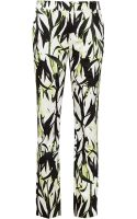 Reiss Olivia Floral Print Trousers - Lyst