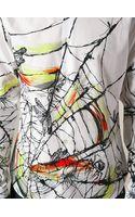 McQ by Alexander McQueen Spider Web Print Shirt - Lyst