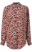 Gucci Printed Shirt - Lyst