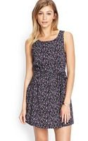 Forever 21 Floral Fit Flare Dress - Lyst