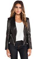 Rebecca Minkoff Zipped Hydra Jacket - Lyst