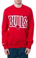 Mitchell & Ness The Chicago Bulls Sweatshirt - Lyst