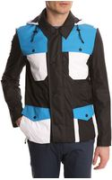 Opening Ceremony Storm Jacket Black and White Parka - Lyst