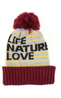 Free City Life Nature Love Sherpa Hat - Lyst