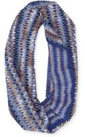 Missoni Zigzag Spacedyed Knit Infinity Scarf - Lyst