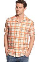 Tommy Bahama Plaid Impressions Silkblend Shirt - Lyst