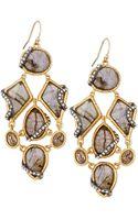 Alexis Bittar Multi Stone Drop Earrings - Lyst
