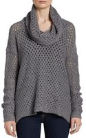 James Perse Woolblend Open Stitch Sweater - Lyst