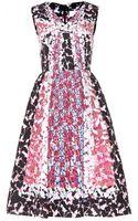 Peter Pilotto Silkcloque Printed Dress - Lyst