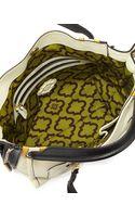 Oryany Ruby Colorblock Zipside Mini Tote Bag Butter - Lyst